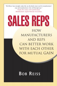 Sales rep ebook by Bob Reiss
