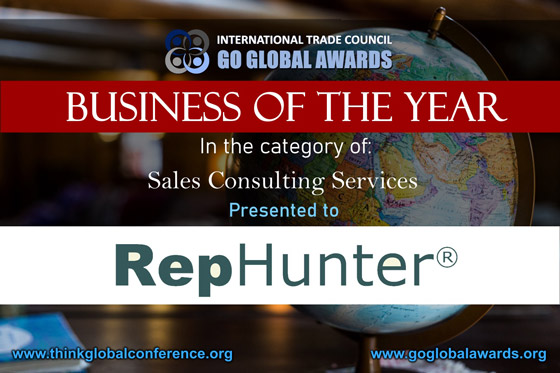 International Trade Council - Business of the Year - RepHunter