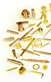 small precision machined parts, screws, pins, contacts