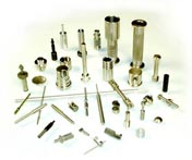 small precision machined parts, electrical pins, contacts and assemblies, specialty pins, screws and shafts, firearm components